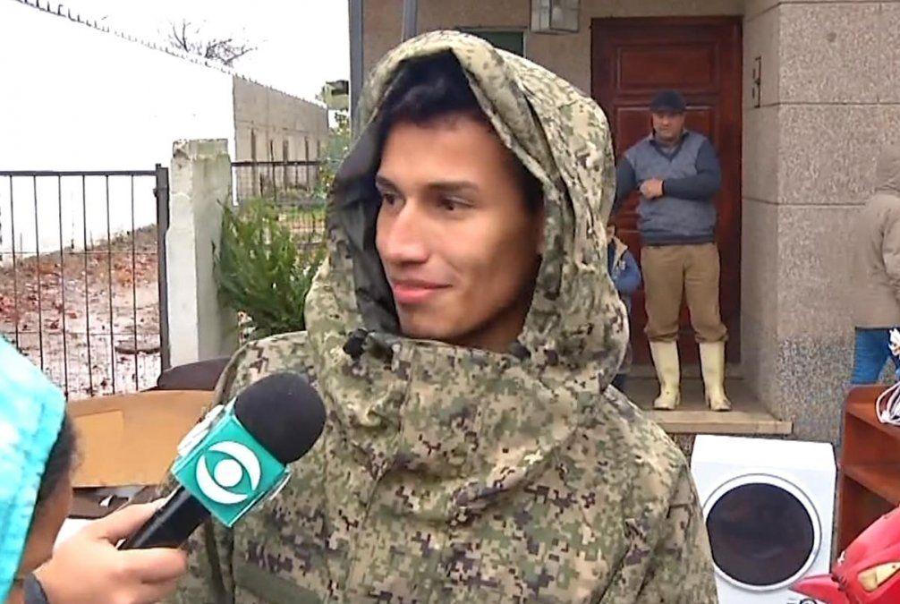 Una mujer dio a luz en medio de las inundaciones en Durazno