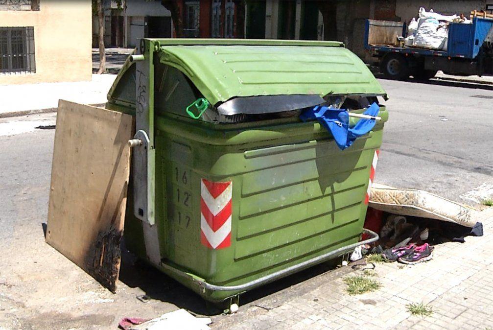 Intendencia espera adjudicar en julio la limpieza de zonas aledañas a los contenedoes