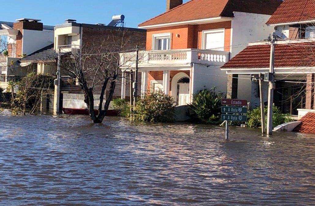 Foto: Inundaciones en Mercedes