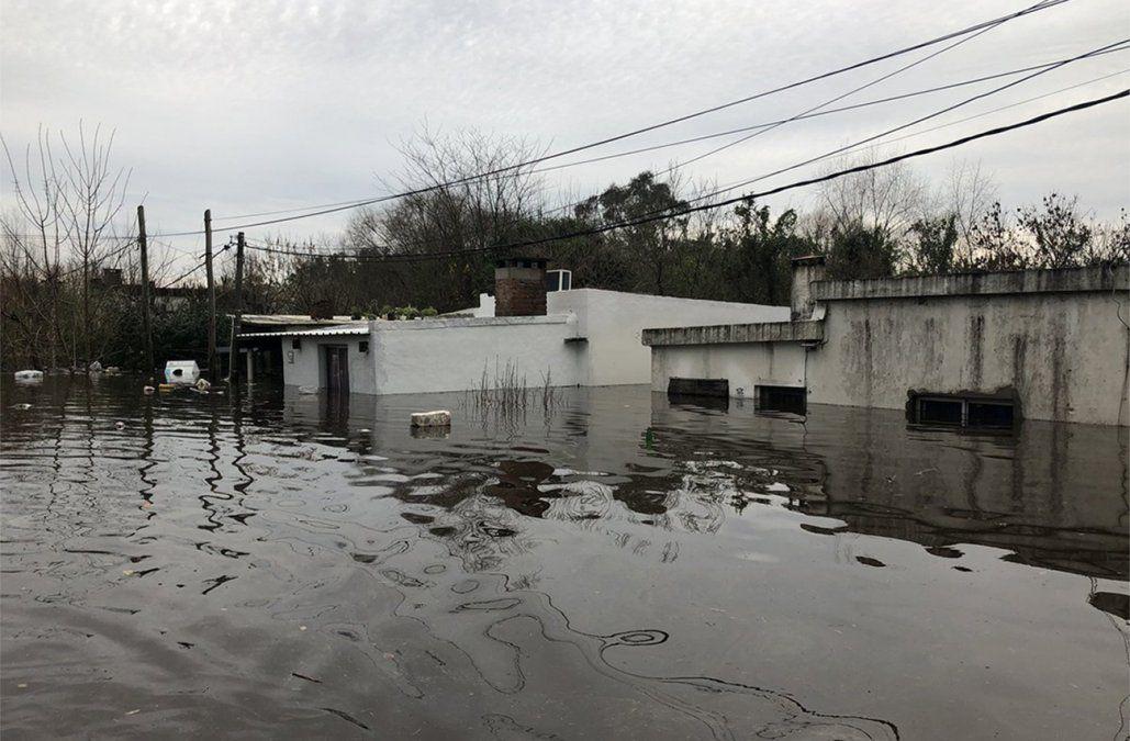 Foto: inundación en Durazno.