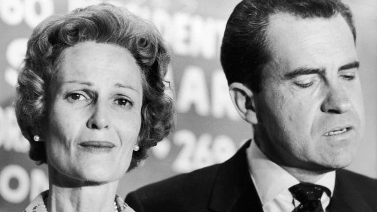 Richard y Pat Nixon. Ella murióa la edad de 81 años en 1993. Se habían casado en 1940.