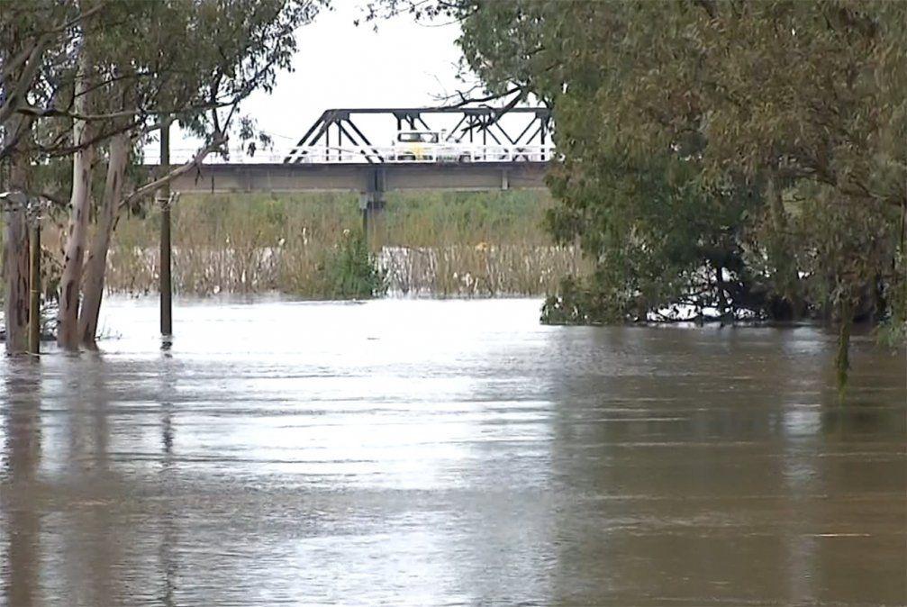 Más de 8900 desplazados en siete departamentos por las inundaciones