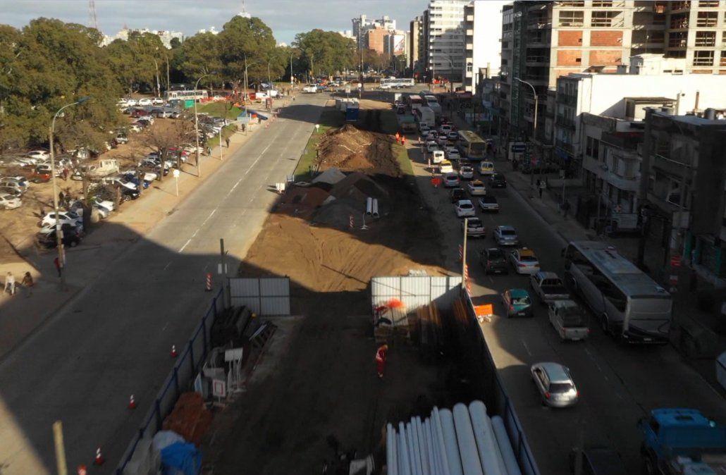 El 15 de julio comienza la construcción del túnel de avenida Italia y Centenario