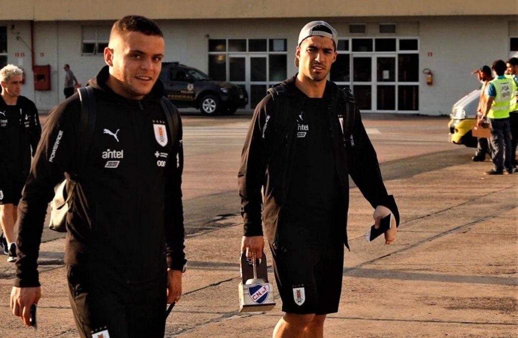 Foto: publicada por la Selección Uruguaya en Twitter.