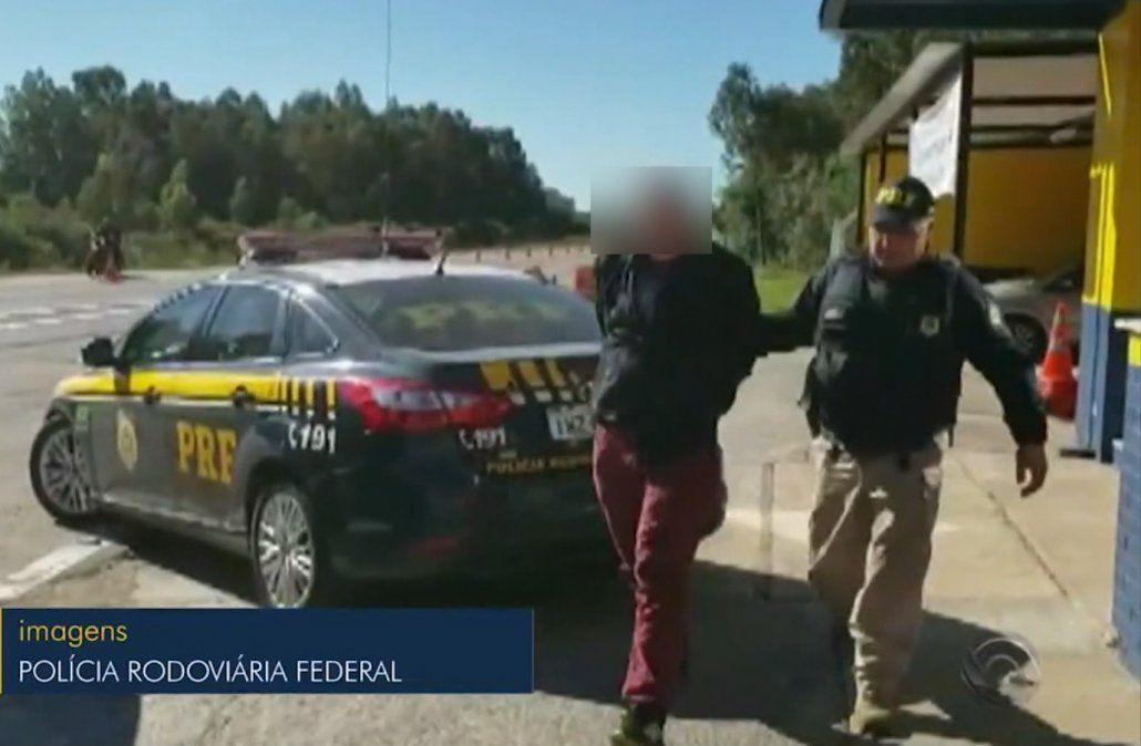 Uruguayo intentó coimear a Policía Rodoviária al ser detenido por alta velocidad
