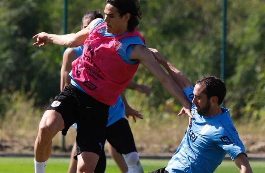 Así fue el primer entrenamiento de Uruguay en Río de Janeiro para el partido ante Chile