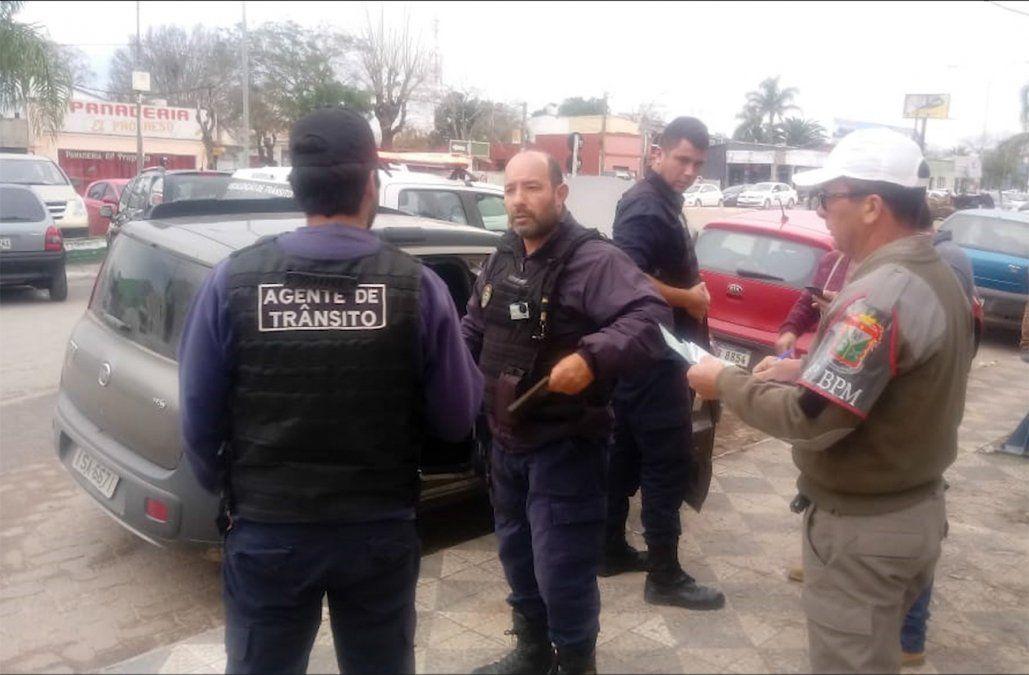 Militar uruguayo fue detenido en el Chuy circulando en un auto robado
