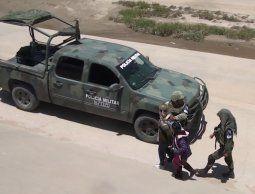 México envía 15.000 uniformados a frontera con Estados Unidos