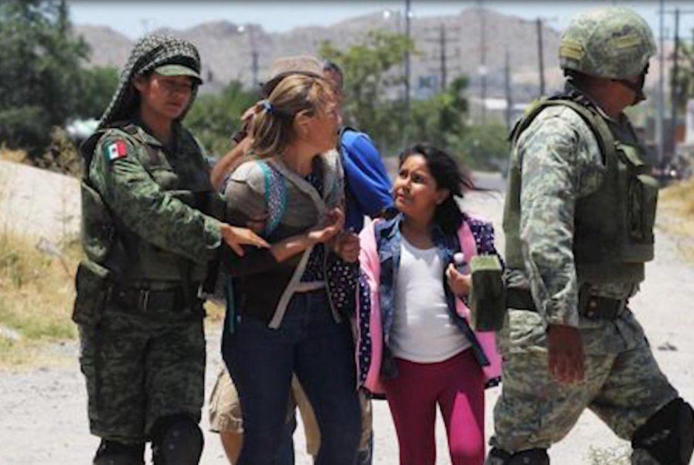 Padre e hija mueren tras intentar cruzar la frontera entre México y Estados Unidos