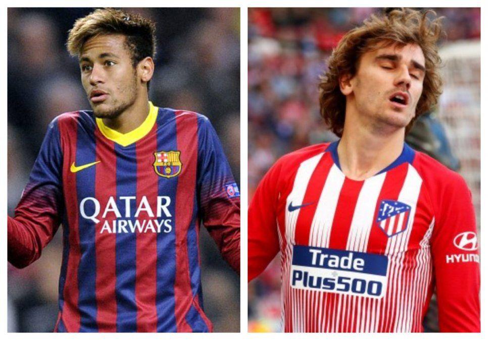 Neymar dispuesto a volver a Barcelona con el contrato que tenía antes de firmar con PSG. En el casod e Griezmann todo estaba casi arreglado desde marzo último. Igual todavía no está todo cerrado