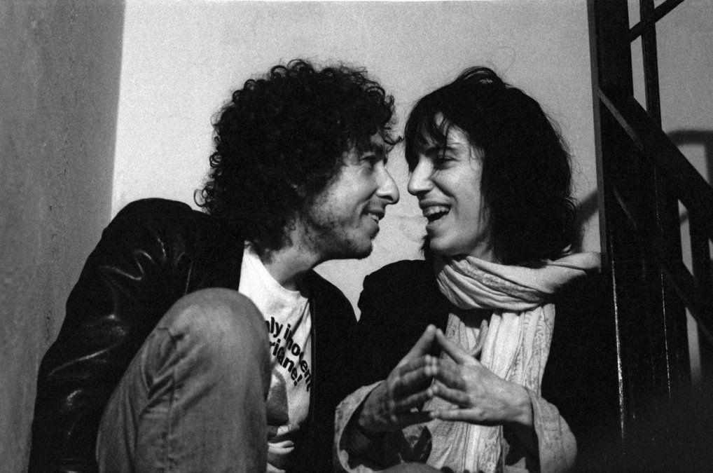 Smith con Bob Dylan