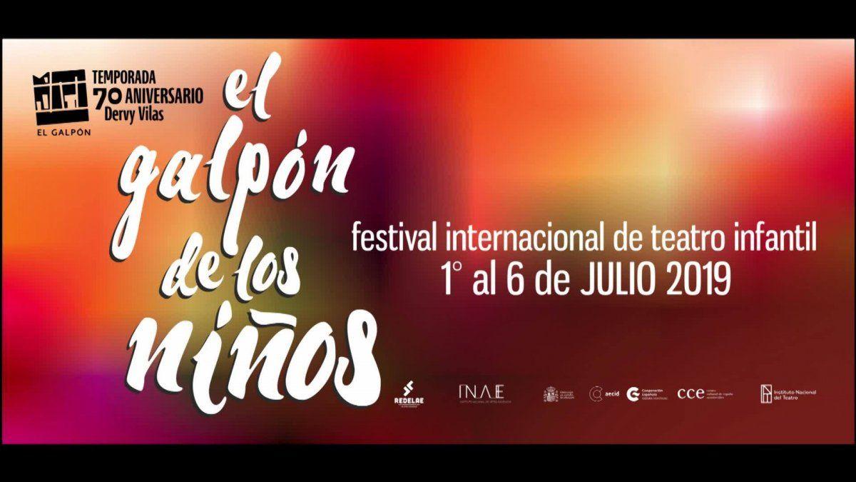 Festival Internacional de Teatro Infantil en El Galpón