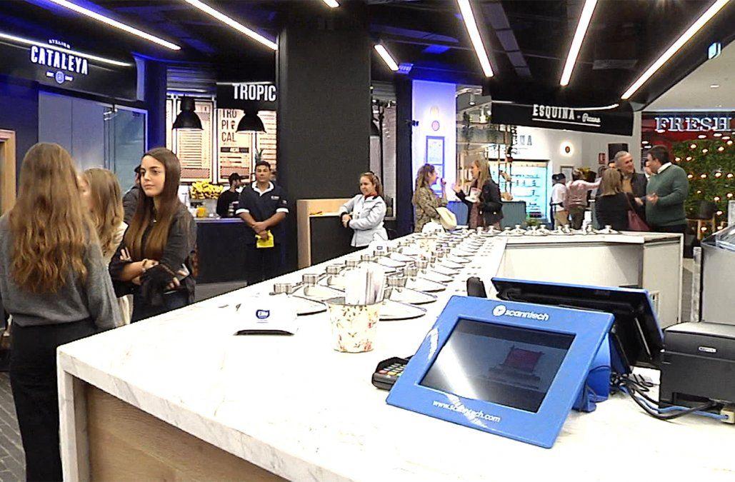 Punta Carretas Shopping inauguró un nuevo espacio: el Paseo Gourmet
