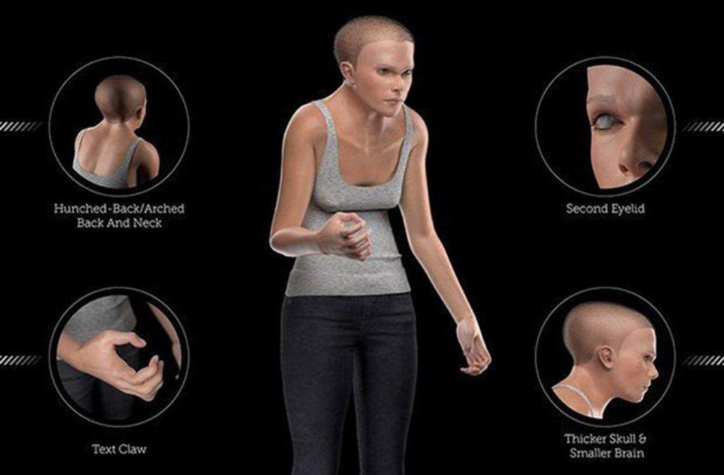 Así será el cuerpo del ser humano del futuro, obsesionado con las tecnologías