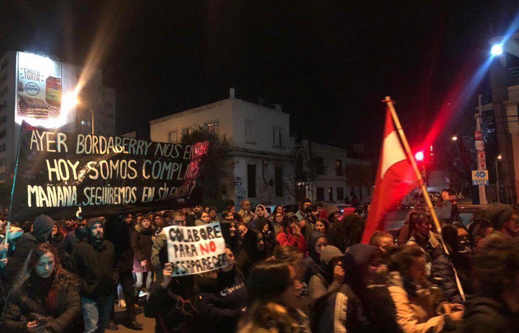 Movilización frente al Comando del Ejército a 46 años del Golpe de Estado