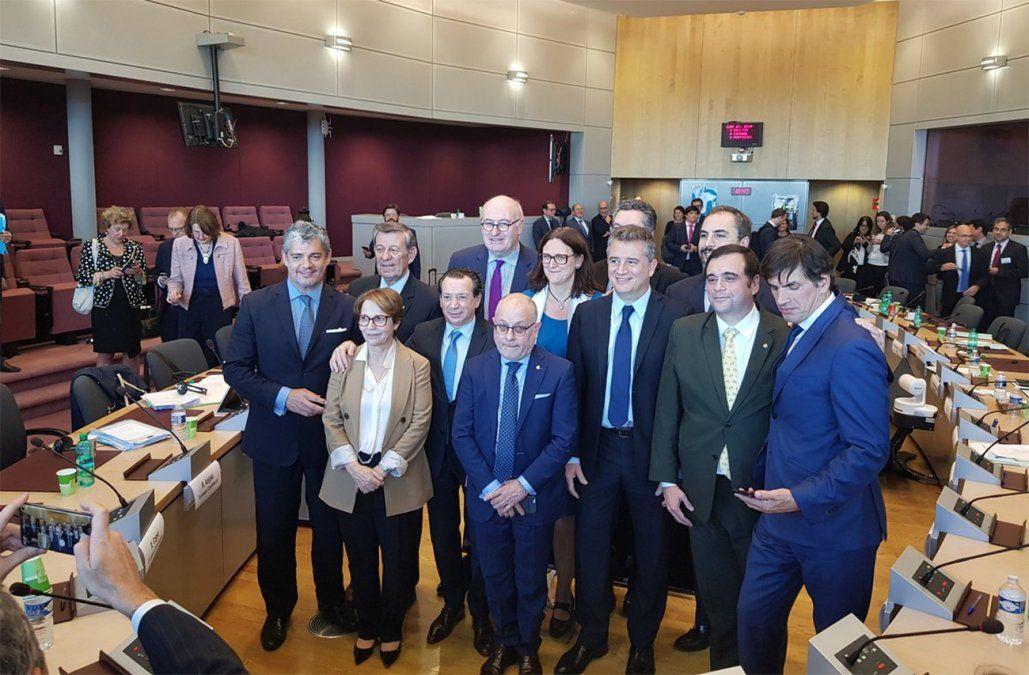 Foto: Delegación del Mercosur en la negociación