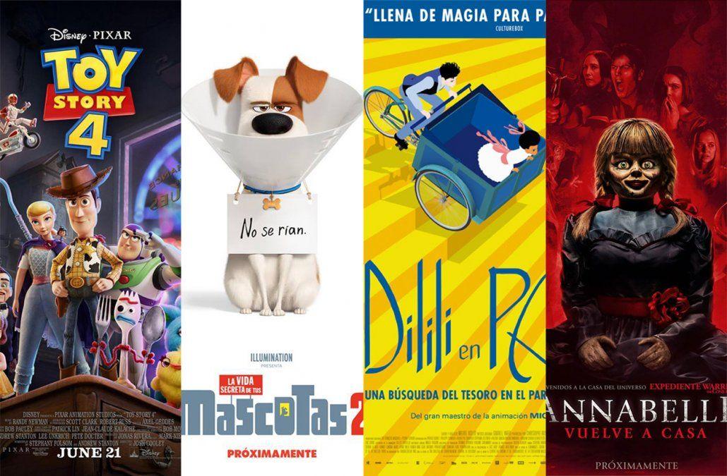 Cine de vacaciones: ofertas animadas y terror en la cartelera de estrenos
