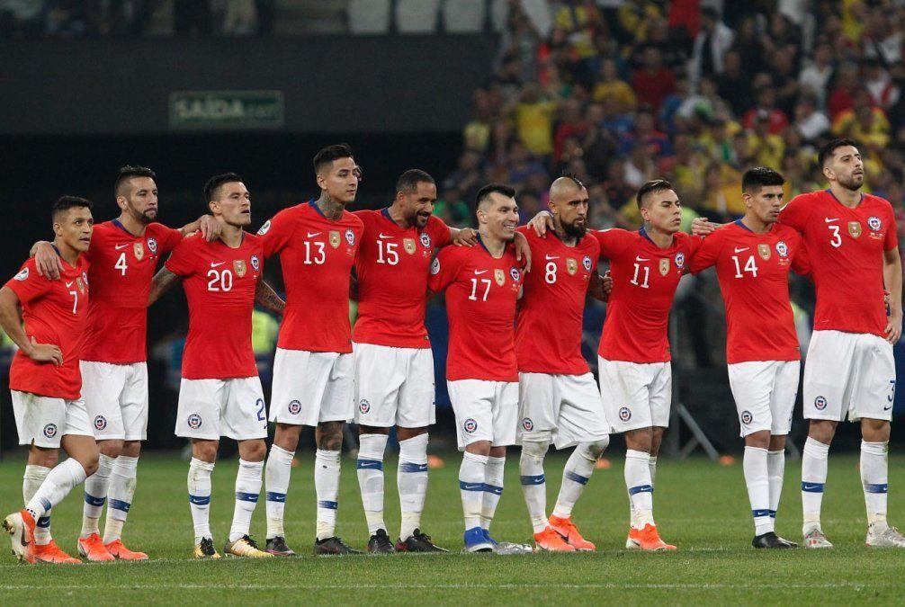 Chile dejó afuera a Colombia por penales y se está en semifinales