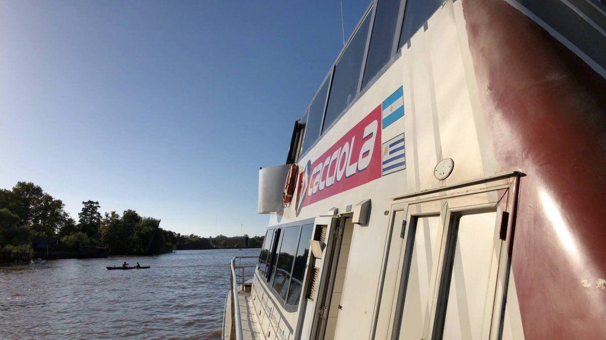 Cerró la empresa Cacciola, que unía Carmelo con la ciudad argentina de Tigre