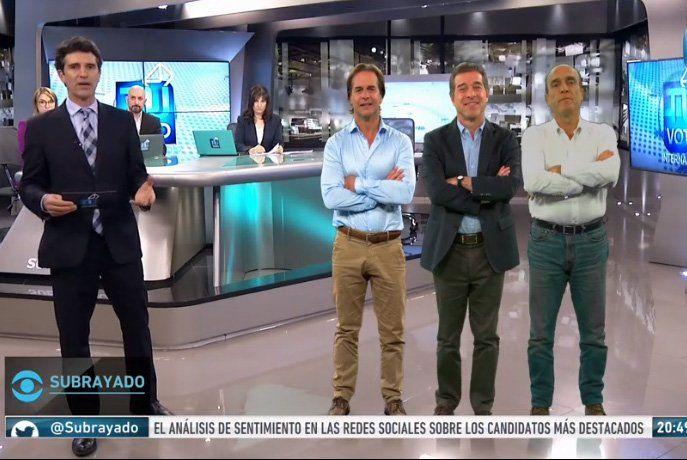 Lacalle Pou, Martínez y Talvi son los ganadores de las elecciones internas