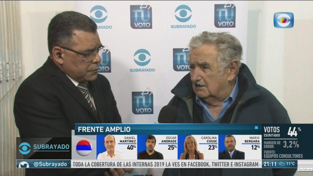 Mujica insiste en que la candidata natural a vicepresidente en el FA es Cosse