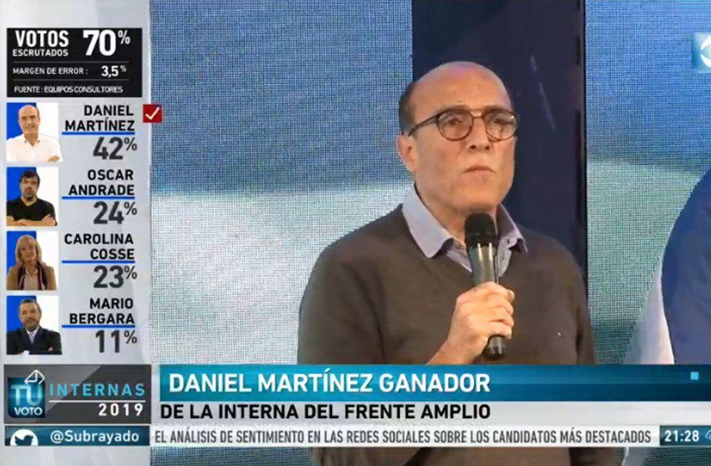 Martínez quiere una mujer como compañera de fórmula y comienza contactos políticos