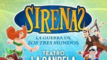 """En vacaciones de Julio vuelve """"Sirenas la Guerra de los Tres Mundos"""""""