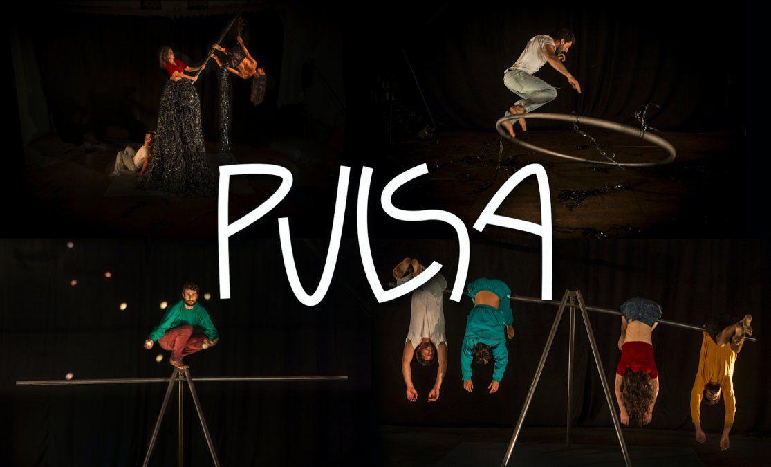 Pulsa: una obra interdisciplinar que combina circo, danza y teatro