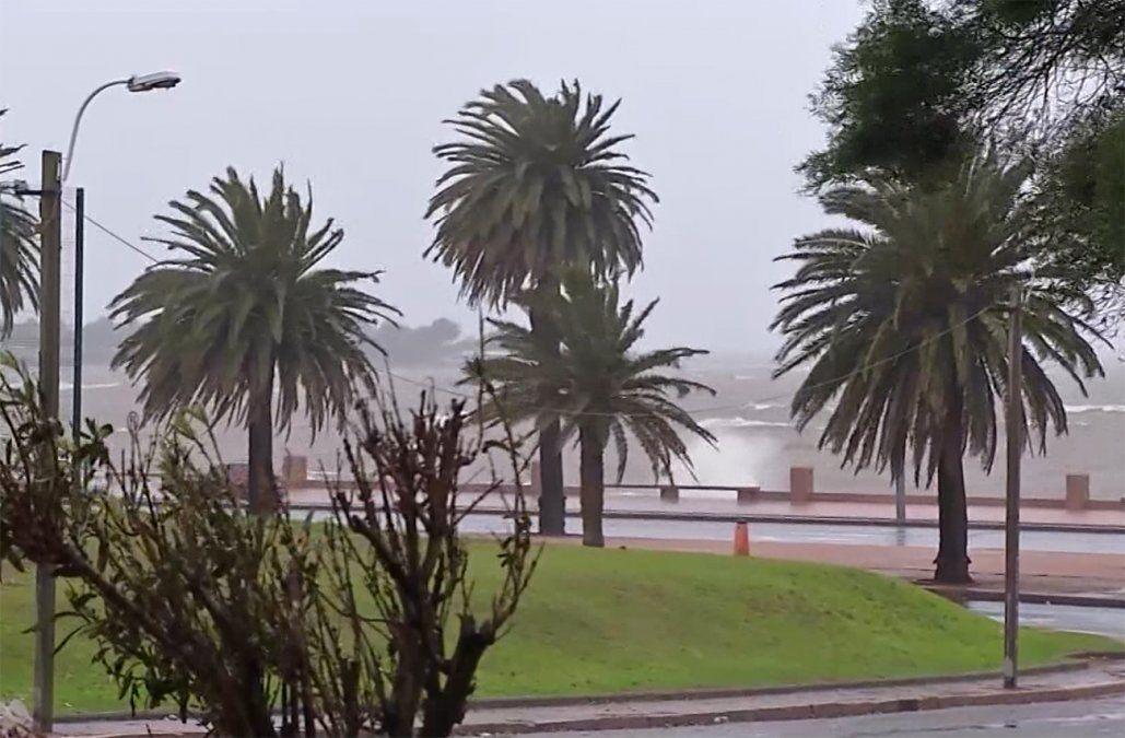 Jornada gélida en todo el país; se esperan rachas de viento de hasta 50 km/hora
