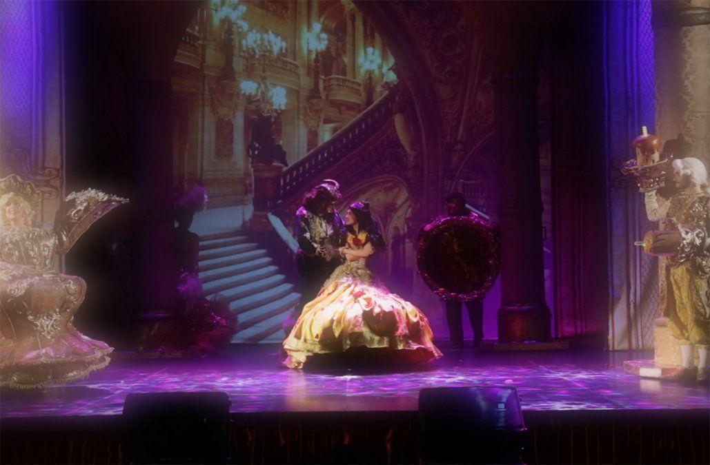 La bella y la bestia: magia, color y música en escenario uruguayo