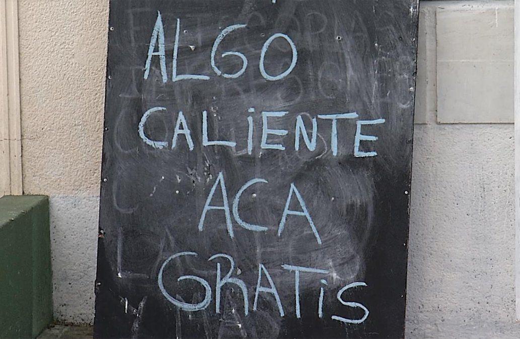 Un comercio de Malvín ofrece bebidas calientes gratis para personas en situación de calle