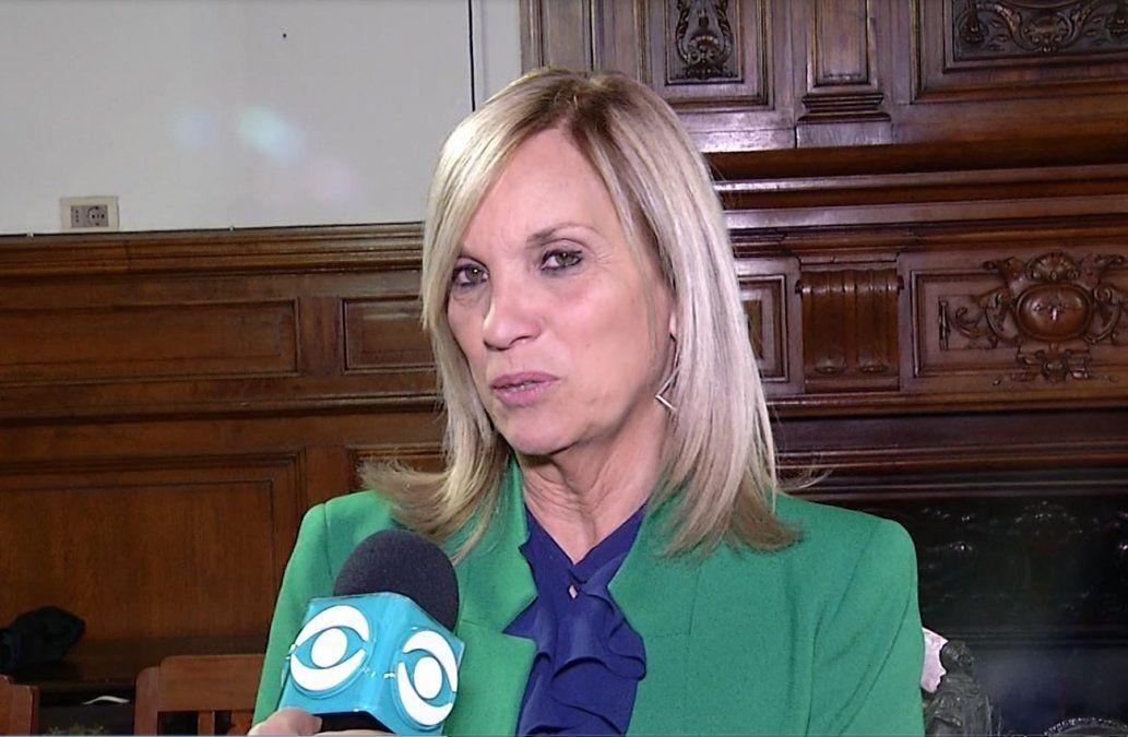 Beatriz Argimón dejará en agosto la Presidencia del Partido Nacional