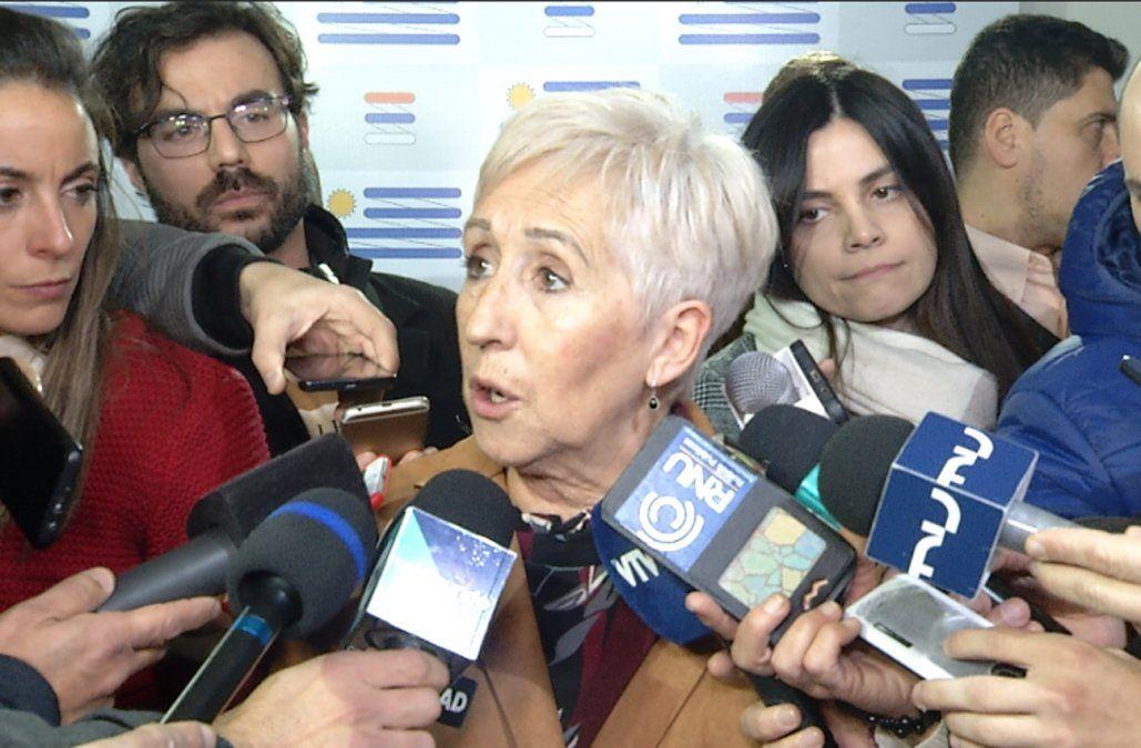 Villar no arrancó y ya dijo que está dispuesta a debatir con Beatriz Argimón