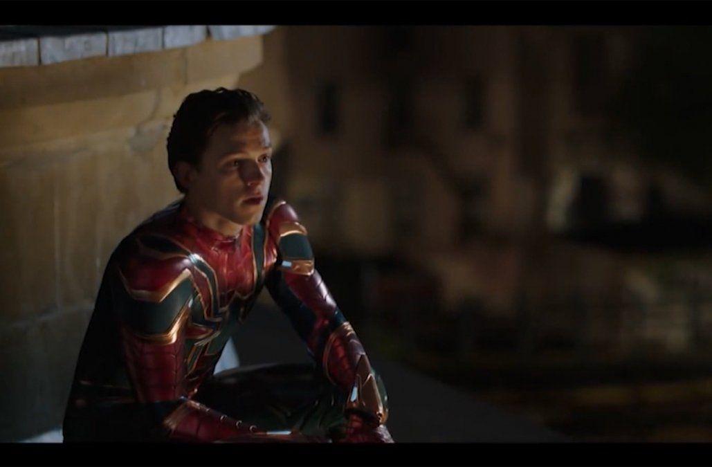 El hombre araña y el retorno del actor Tom Holland