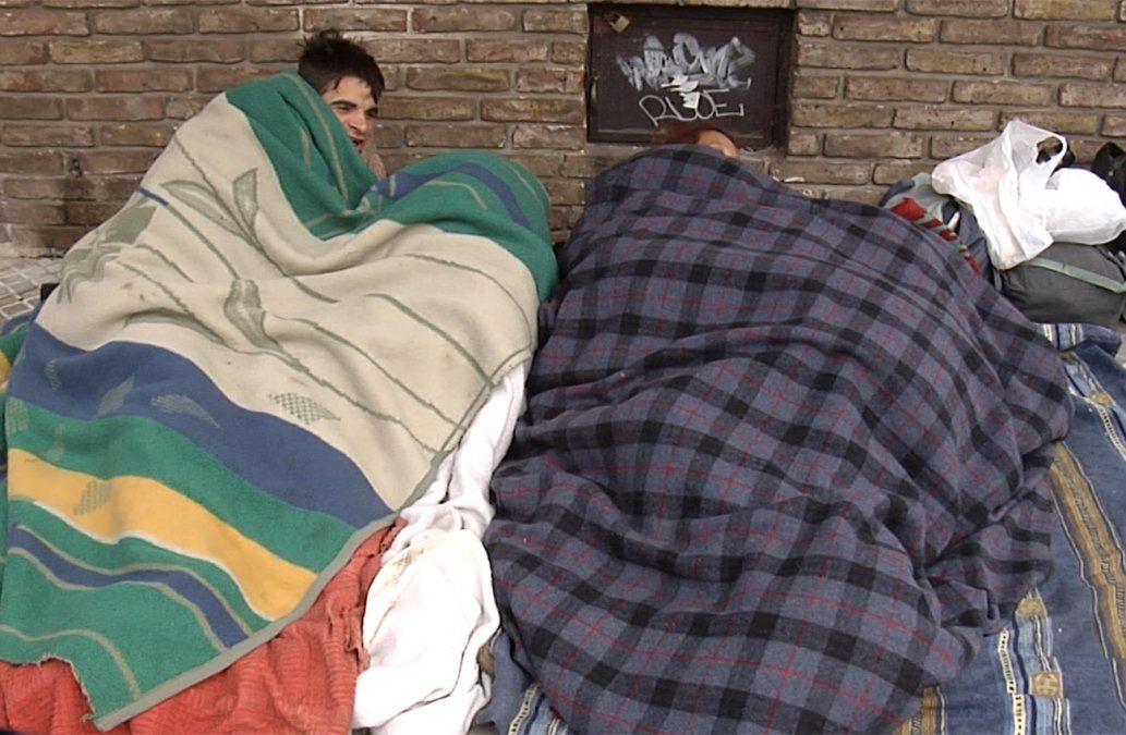 Dos hombres murieron por hipotermia mientras dormían en la calle