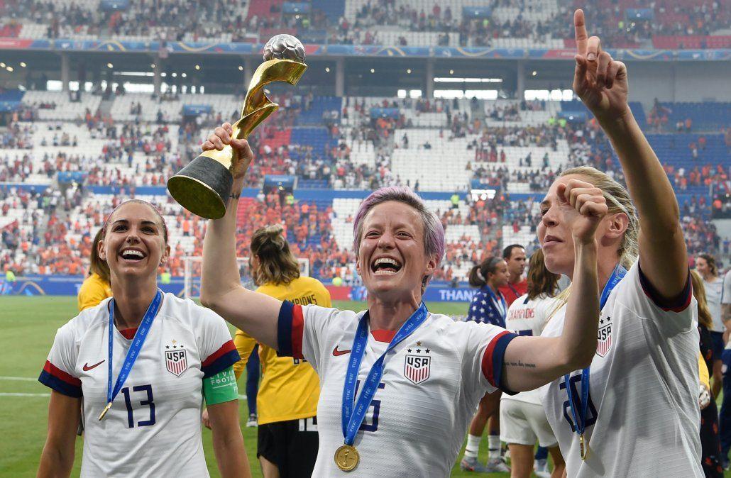 EEUU venció 2-0 a Holanda en la final del Mundial femenino
