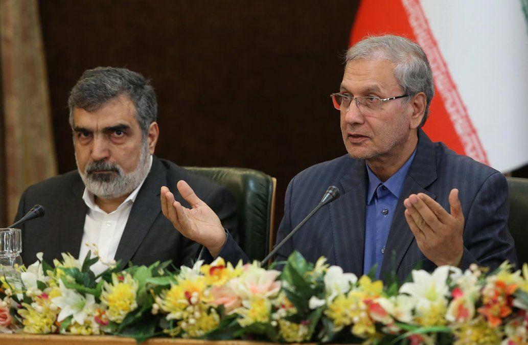 Vocero de la Organización de Energía Atómica de Irán
