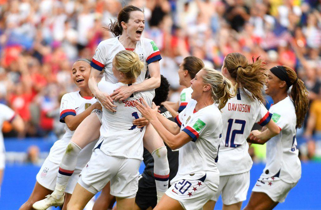 Estados Unidos, otra vez campeón mundial del fútbol femenino