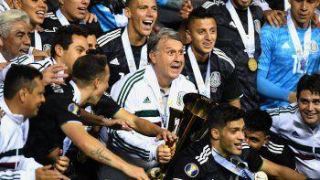 """Tata"" Martino obtiene con México la Copa de Oro de centroamérica"