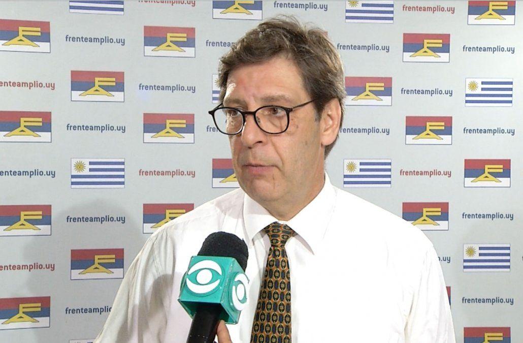 Presidente del Frente Amplio dijo que Daniel Martínez eligió bien a su vicepresidente