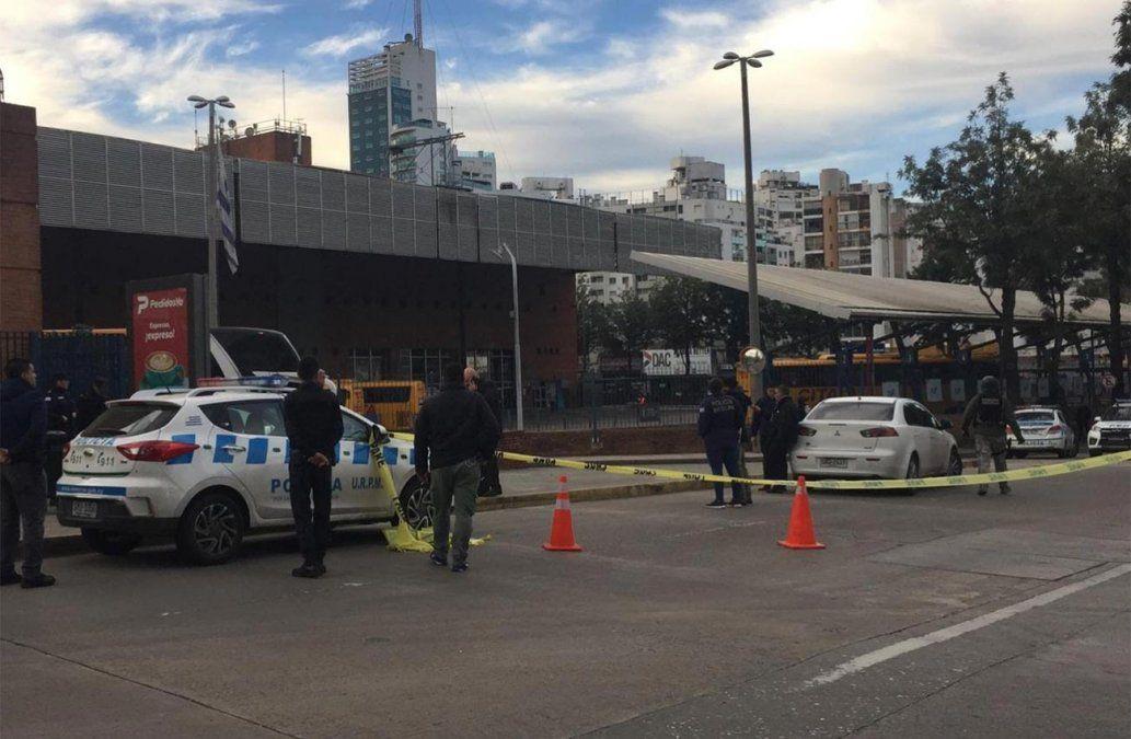 Policía realizó intenso operativo en Tres Cruces pero no halló ninguna persona atrincherada