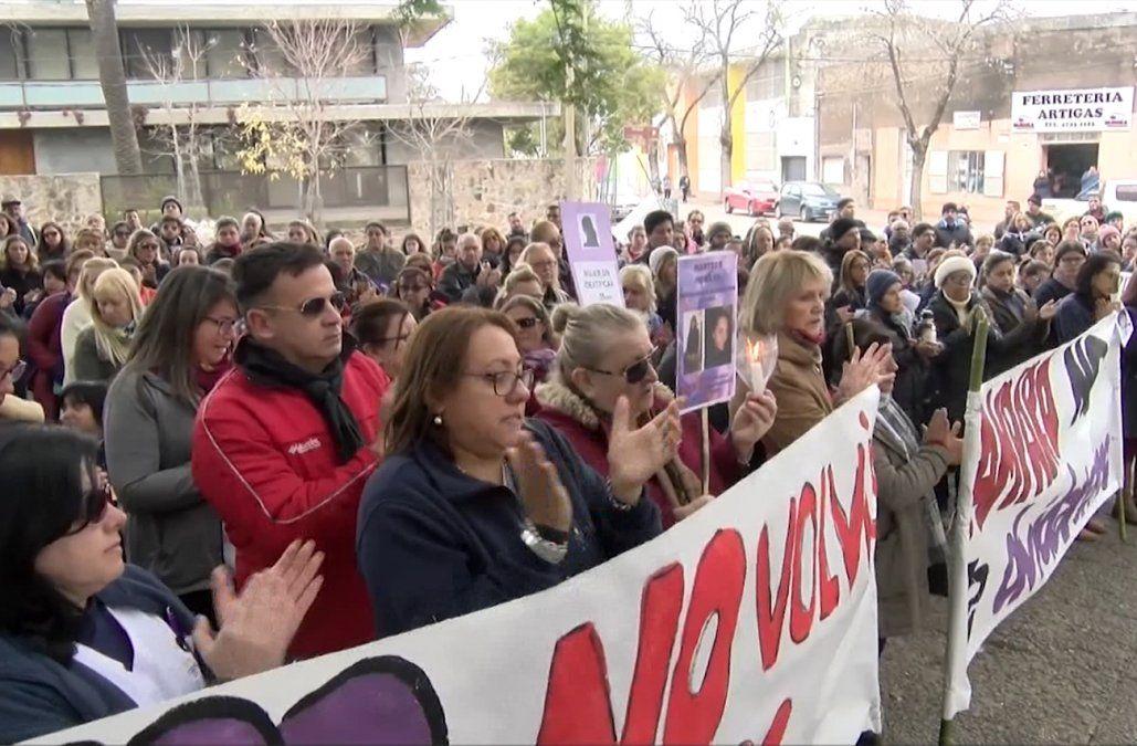 Decenas de personas marcharon en reclamo de Justicia por Amparo Fernández