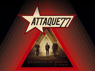 Attaque 77 de gira presentando Triángulo de Fuerza