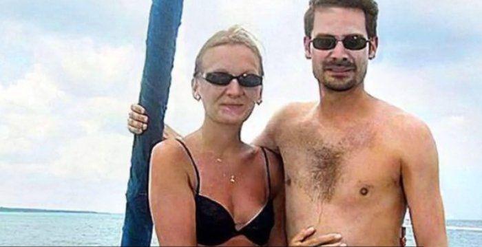 Vincent y su esposa en tiempos de felicidad. Ella quería desconectarlo