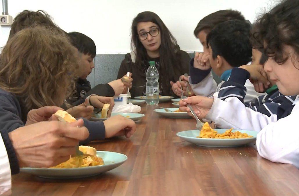Alimentación para 5.000 liceales en situación de extrema vulnerabilidad