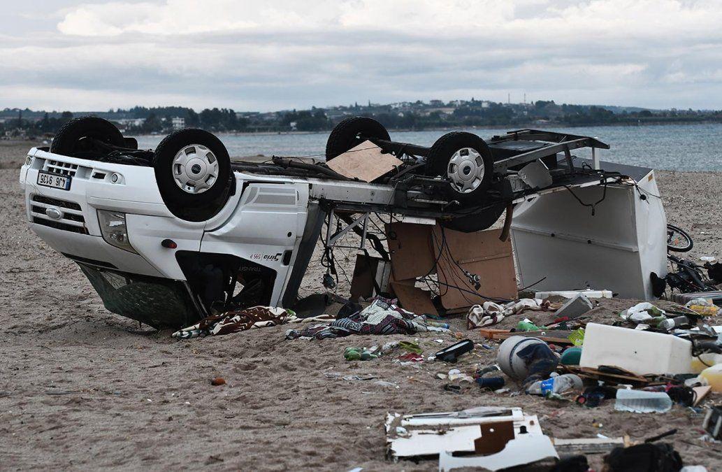 Siete muertos en un tornado en Grecia, en plena temporada turística