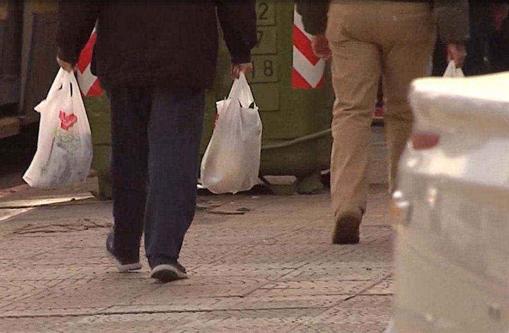 Dinama detectó comercios que no entregan bolsas biodegradables