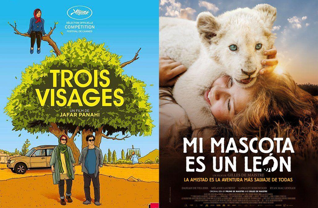 Tres rostros y Mi mascota es un león, entre los estrenos de cine