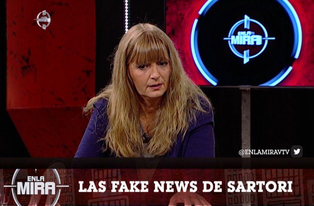Foto: Magdalena Herrera en VTV.