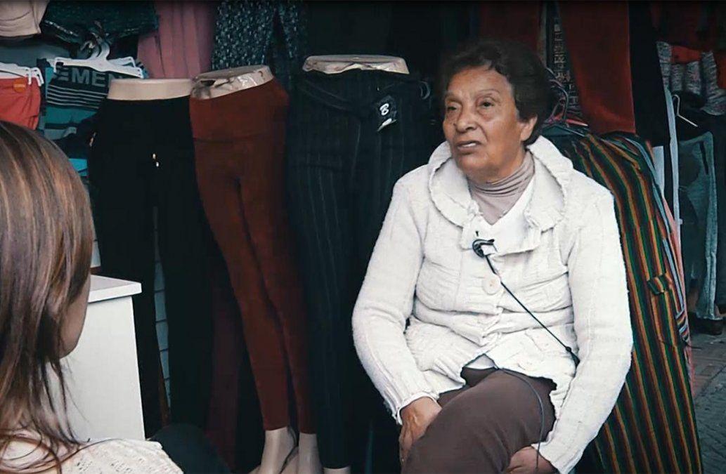La historia de Angelita: la primera comerciante en instalarse en los Techitos Verdes